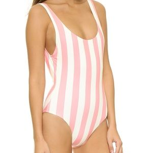 Other - Brand new WTGS pink stripe swimsuit